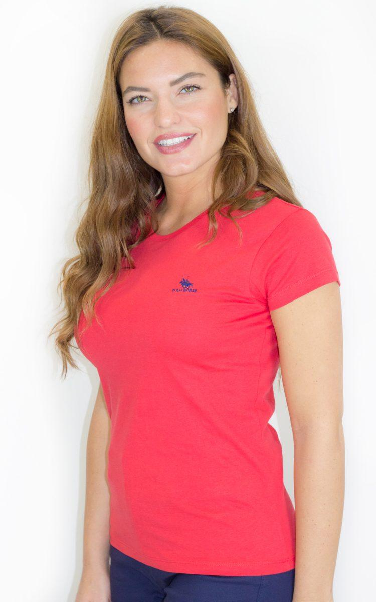 Camiseta básica roja